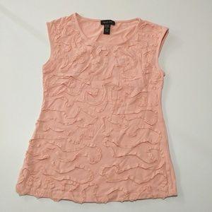 SPENSE Size Small Sleeveless Embellished Shirt